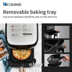 1700W Alexa Hot Air Fryers Deep Oven Oil Free Cooker LED Nonstick Basket 5.5 L