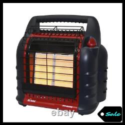 18000 BTU Space Heater Propane Portable Indoor Outdoor 3 Settings Camping Garage