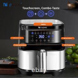 5.5L Alexa Deep Fat Air Fryer 1700W LED Cook Oil Free Timer Temperature Control