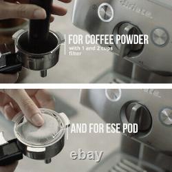 Ariete 1324 Metal Espresso Coffee Machine for Powder and Pod 1000 W