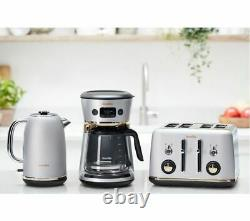 BREVILLE Mostra Easy Measure Filter Coffee Machine VCF115 Silver Currys