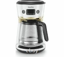 BREVILLE Mostra Easy Measure Filter Coffee Machine VCF116 White Currys