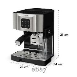B-Stock Espresoo Coffee Machine Commercial Electric 1450 W 20 Bar Milk Frot