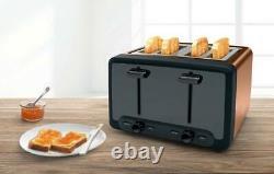 Bosch Copper Kettle & 4 Slice Toaster Set TWK4P439GB & TAT4P449GB +2 Yr Warranty