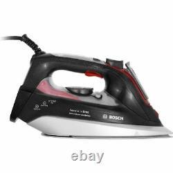 Bosch TDI9020GB Sensixx'x DI90 AntiShine Iron 3120 Watt Anthracite / Red