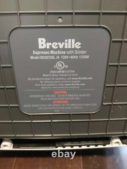 Breville BES870XL Barista Express Automatic Espresso Machine Burr Grinder +EXTRA