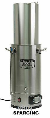 Brewer's Edge Mash and Boil With Pump All Grain Electric Brewing System