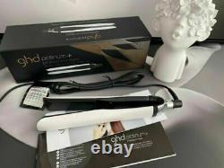 British Plu+ Fashion Flat Iron Hair Straightener GHD White Platinum