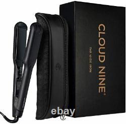 Cloud Nine WIDE Iron Hair Straighteners & Free C9 Heat Mat Brand New 2021 Stock