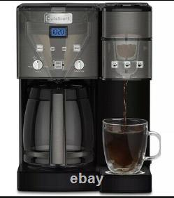 Cuisinart SS-15CP 12 Cup Coffee Maker And Single-Serve Brewer Black NEW