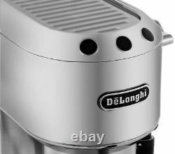 DELONGHI Dedica EC685M Coffee Machine Silver Currys