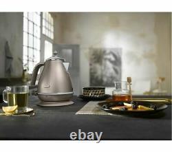 DELONGHI Icona Metallics KBOT3001. BG Electric Jug Kettle 1.7L Gold Currys