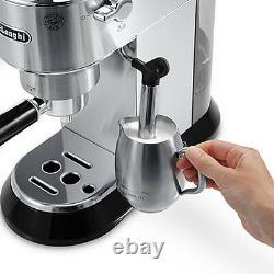 DeLonghi Dedica 15-Bar Pump Espresso Cappuccino Coffee Latte Barista Machine