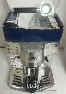 DeLonghi EC860 Automatic Espresso / Cappuccino Machine Silver REFURBISHED
