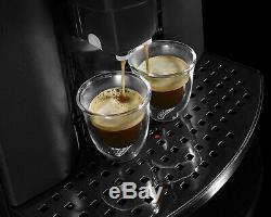 Delonghi Caffe Corso ESAM2800. SB Black & Silver Bean To Cup Coffee Machine