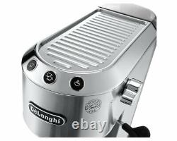 Delonghi Dedica EC685. M Silver Coffee Machine 2 Year Manufacturers Warranty