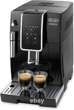Delonghi Dinamica ECAM350.15B Bean to Cup Coffee Machine (ECAM350.15B)