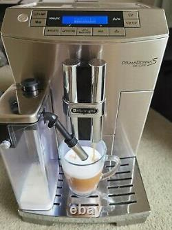Delonghi Primadonna S ECAM26.455. B Bean To Cup Coffee Machine