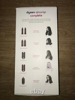 Dyson Airwrap Complete Hair Styler Gift Edition Nickel/Fuchsia Pink BRAND NEW
