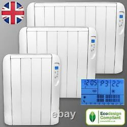 Electric Radiator Panel Heater With Timer Thermostat Wall Mounted Convector