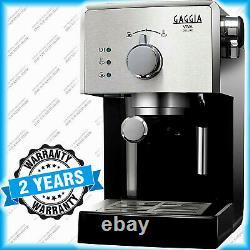 Espresso Coffee Machine Gaggia Viva Deluxe RI8435/11 Black