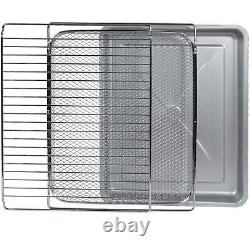 Frigidaire EAFO109-SS 26.4 QT 1800 Watt XL Capacity Digital Air Fryer Oven