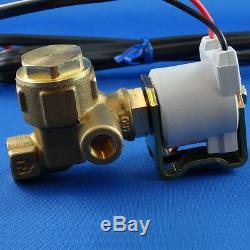 Gas Detector LPG / Propane, gas shut off, Dual sensor, Marine, Boat, Auto, RV