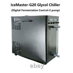 IceMaster G20 Glycol Chiller Digital Fermentation Control with 2 Pump