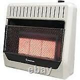 Infrared 30K BTU Vent Free Propane/Natural Gas Wall Heater IWH26NLTD BROWN BOX