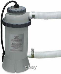 Intex 28684 Electric Above Ground Pool Heater w. Thermometer, 2.2KW, 220V