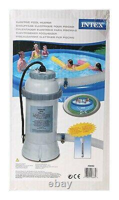 Intex 28684 Pool-Heater Electric Pool 3KW for swimming pool and thermometer 220V