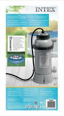 Intex 28684 Pool-Heater Electric Pool 3KW for swimming pool + thermometer 220V