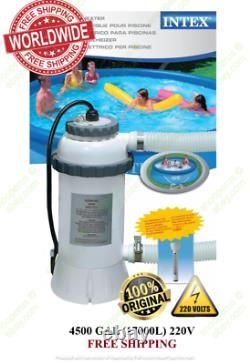 Intex 28684 Pool-Heater Electric Pool EU for Swimming Pool + thermometer 220V