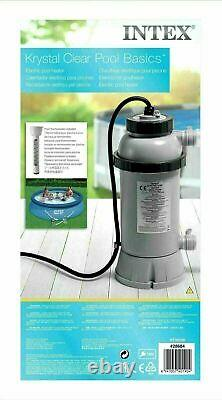 Intex 28684 Pool-Heater Pump Electric Pool 3KW for swimming pool complete 220V
