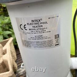 Intex Electric Above Ground Pool Heater 2.2 KW Refurbished Fully Tested Working