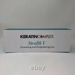 Keratin Complex Stealth V Titanium Straightening Flat Iron 1.25 Latest Model