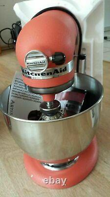 KitchenAid 5KSM150PSBCD 4.8L Artisan Stand Mixer Terracotta Boxed New UK Plug