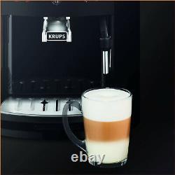 Krups EA811K40 Bean to Cup Coffee Machine Automatic Espresso Maker 1.7L Carbon