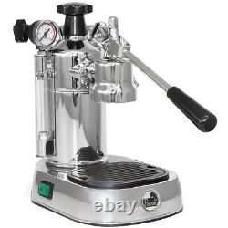 La Pavoni PL Professional Chrome Manual Lever Espresso Coffee Maker Machine 220V