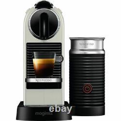 Magimix Nespresso Citiz Coffee Machine with Aeroccino White 3 Year Guarantee