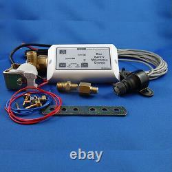 Marine, Caravan LPG Gas Detector / Propane, gas shut off, Single sensor, Auto, RV
