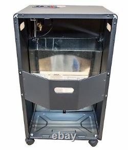 Mobile Room Calor Gas Heater Cabinet Indoor Ceramic Piezo FFD Butane 4.2kW MH-01