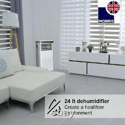 Morris 9000BTU Portable Air Conditioner WIFI App 24 Hour Timer Fan R290 1003w A