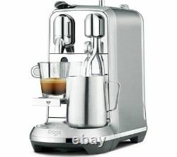NESPRESSO by Sage Creatista Plus BNE800BSS Coffee Machine Stainless Steel Currys