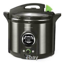NEW IN BOX Presto Precise 02144 12Qt Digital Pressure Canner Black