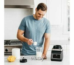 NINJA 2-in-1 BN750UK Jug Blender 2.1L 1200W Plastic Black & Silver Currys
