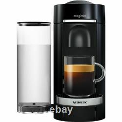 Nespresso by Magimix 11385 Vertuo Plus Pod Coffee Machine 1260 Watt Black