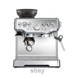 New Breville BES870XL Barista Stainless Steel Espresso Coffee Machine NO BOX