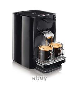 Pod Coffee Machine Black 2 Cups Intensity Select Maker Auto 1.2L Philips Senseo