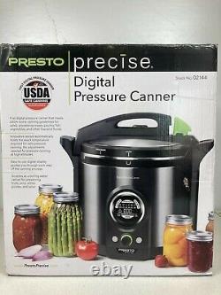 Presto 12 Quart Precise Digital & Electric Pressure Canner